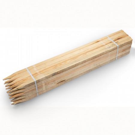 Piquet en bois carré 30x30 mm, long. 80cm 4