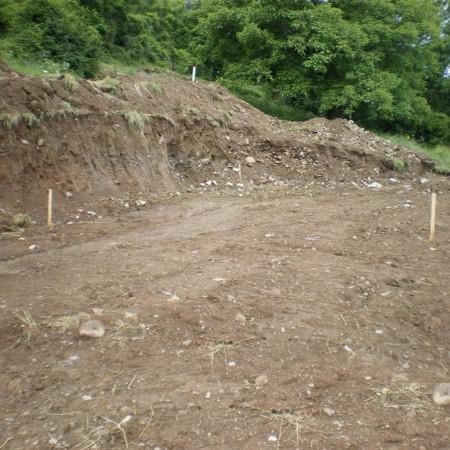 piquet l'implantation terrain de construction 2
