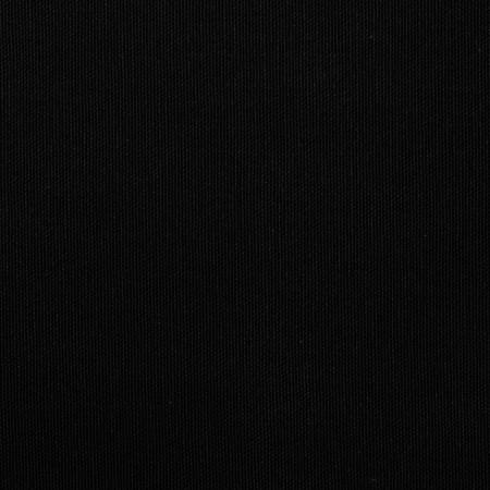 Toile de Transat en Coton Noir