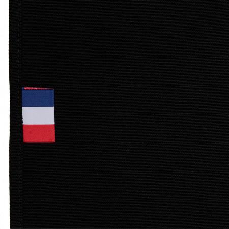 Toile de Transat en Coton Noir 3