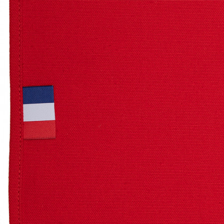 Toile de Transat en Coton Rouge 3