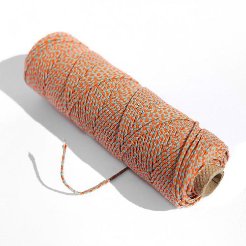 Ficelle coton pour bracelets brésiliens, et créations de bijoux et pendentifs