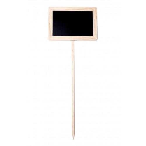 Etiquette a Planter Ardoise Noire x3, 20x14 cm