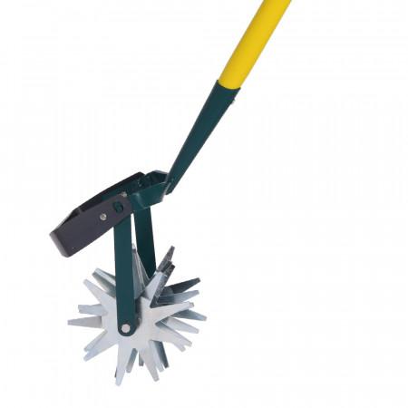 Grattoir de jardinage long manche 150cm PEFC