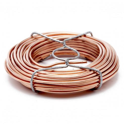 bobine de fil cuivre 2mm5 10m