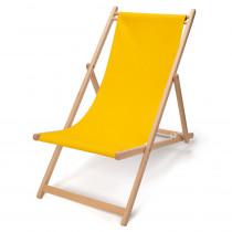 transat d'extérieur et plage, couleur jaune