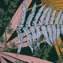 Transat Hêtre et Toile imprimée Forêt Tropicale Moutarde