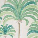 Transat Hêtre Saturé décor imprimé palmier