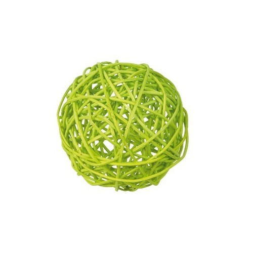 Boule de rotin vert