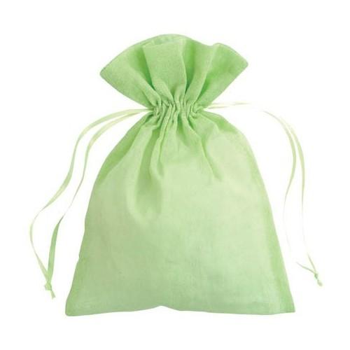 Sachet coton vert