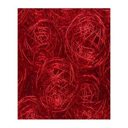 Boule fil de fer rouge
