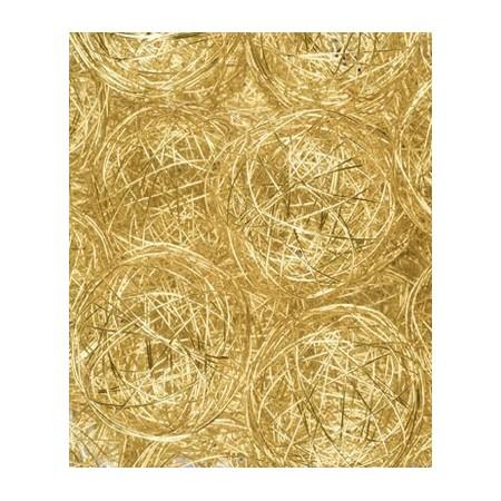 Boule fil de fer or
