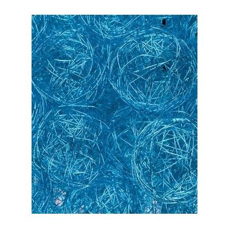 Boule fil de fer turquoise