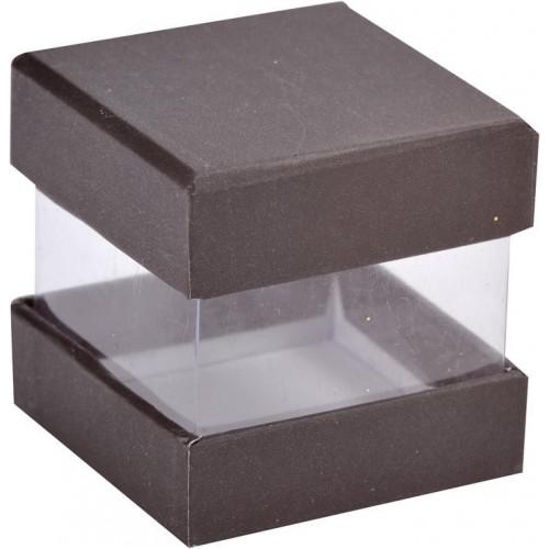 Boîte à dragées cube