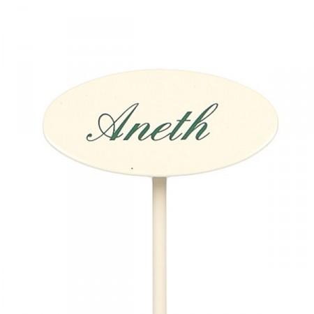 Etiquette jardin en métal Aneth