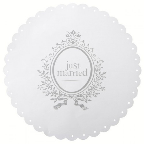 Set de table Just married
