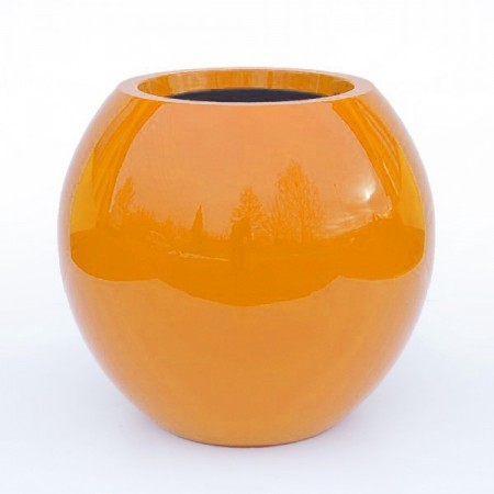 Pot de Jardin Laqué Manacor h:125cm - orange