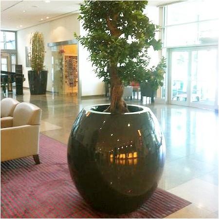 Pot Design Laqué Manacor h:125cm -Tous Coloris