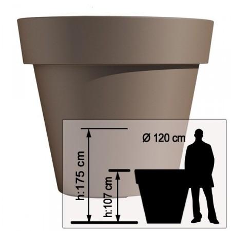 Pot Ikon ?120cm - Tous Coloris