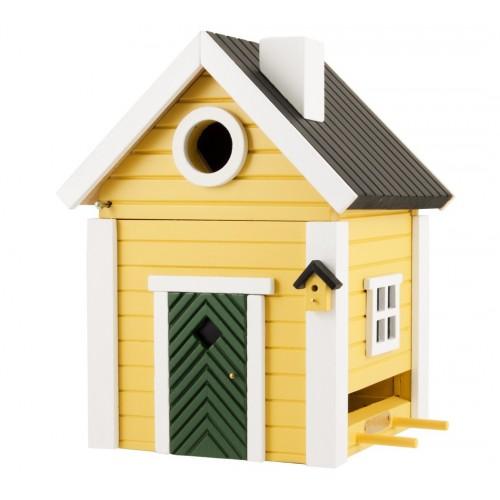 nichoir-mangeoire maison suédoise