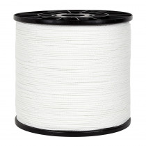 Tresse 100 Metres Blanc - 5 diam.