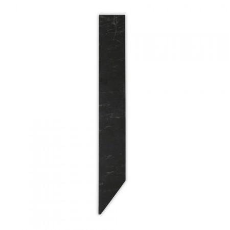 Etiquette ardoise naturelle 3 x 24 cm