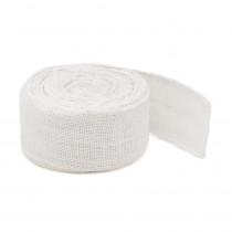 Bande de jute blanc 10mx6cm