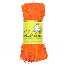 Raphia Orange - Raphia Naturel