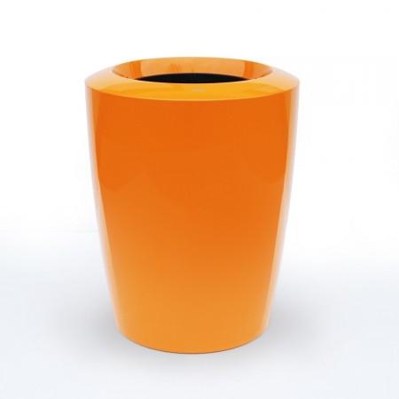 Pot de Fleur Design haut de gamme Laqué Anakena 100cm orange