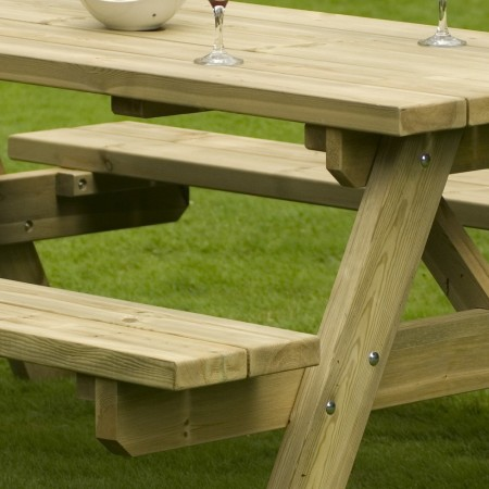 Table a Manger - Table de Jardin bois 180cm (6/8 places)