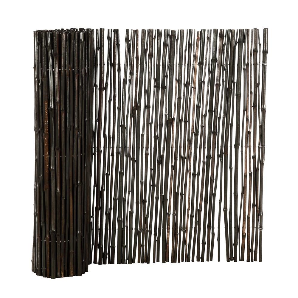 brise vue canisse bambou noir l 3m. Black Bedroom Furniture Sets. Home Design Ideas