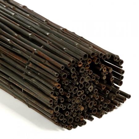 Brise Vue Bambou Déco noir détail