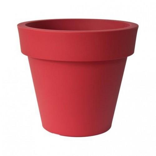 Pot de Fleur Geant 200cm Ikon - rouge