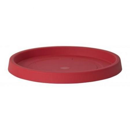 Pot de Fleur Geant 200cm Ikon - Soucoupe rouge