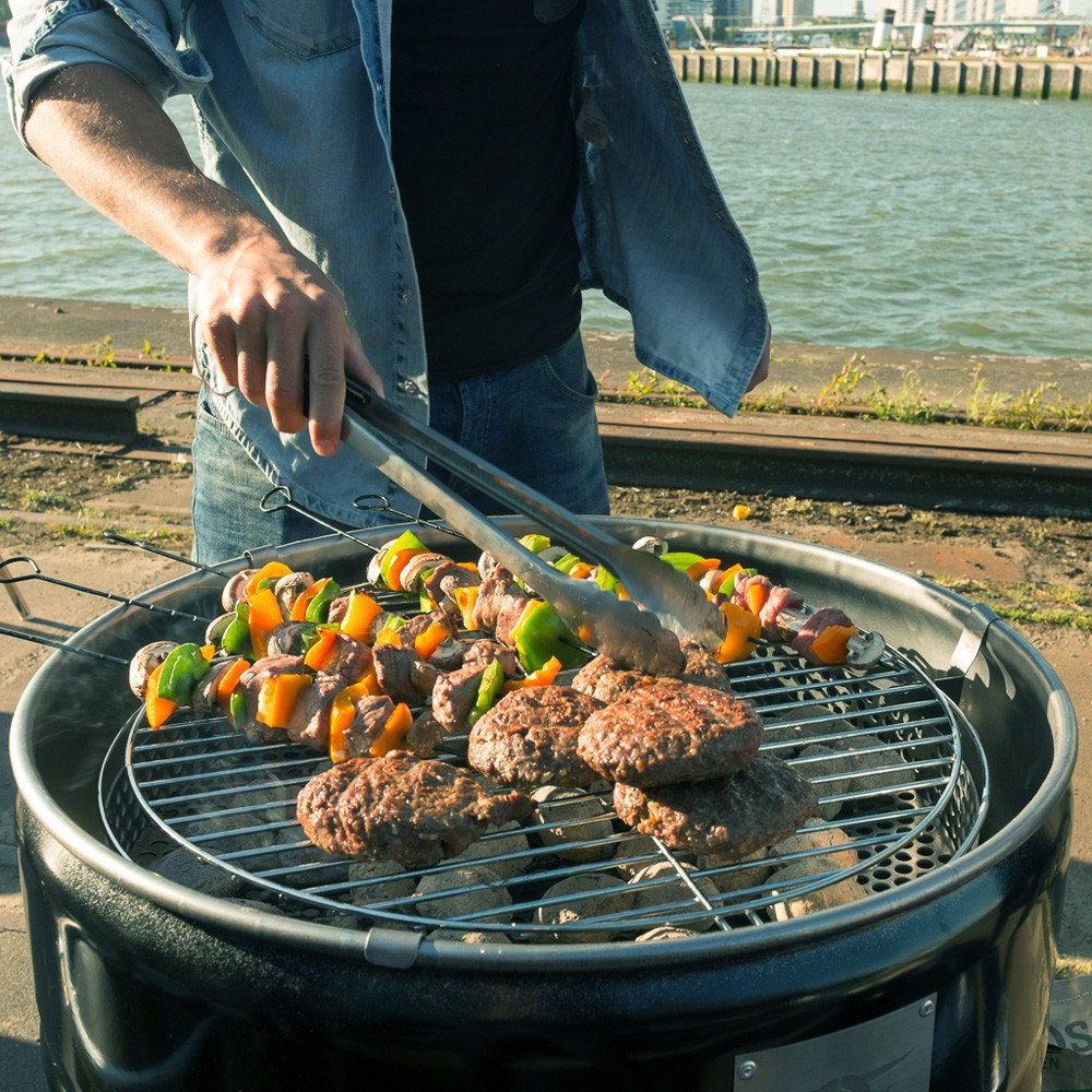 barbecue grand barril - brasero tonneau