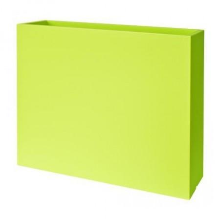Jardiniere haute - Muret Couleur vert L80cm