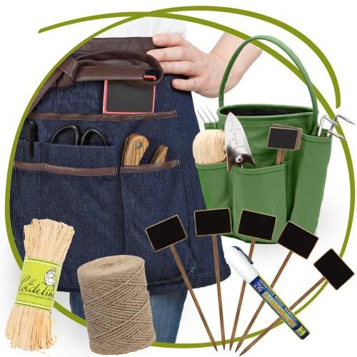 Idee Cadeau depart a la retraite, accessoires et tenue du Jardinier