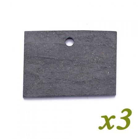 Etiquette Ardoise Naturelle 7 x 5 cm - x3