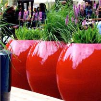 Grand Pot De Fleur Design Moderne Exterieur
