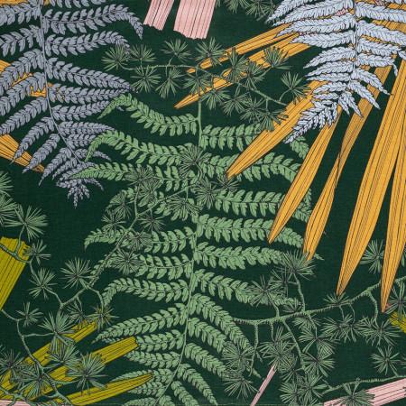 Bain de Soleil, toile Coton motif Tropical