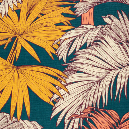 Bain de Soleil, toile Coton Decor Palma