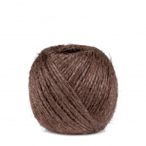 Ficelle de jute 2 mm marron chataîgne 75 m