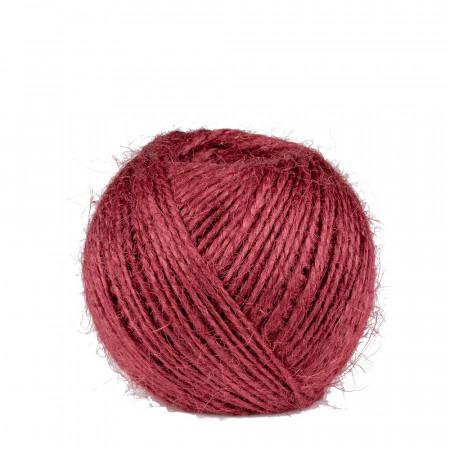 ficelle rouge, Jute fil 2 mm 75 m