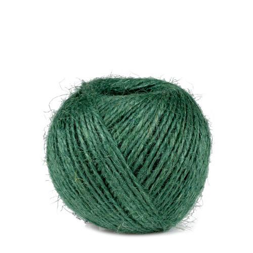 ficelle vert, Jute fil 2 mm 75 m