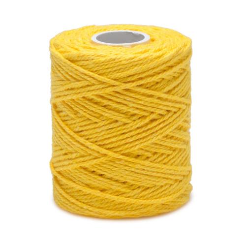 Ficelle jaune, fil de coton