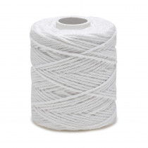 Ficelle blanche, fil de coton