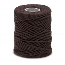 Ficelle marron, fil de coton