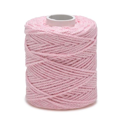 Ficelle fil de Coton Rose clair