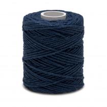 ficelle fil de coton bleu marine