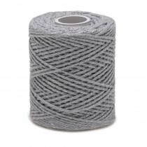 Ficelle fil de Coton Gris